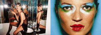 Kate Moss Exhibiton, installation view