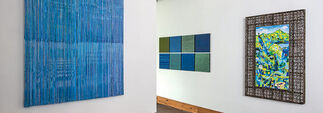 Blue/Green/Color/Code/Context, installation view