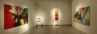 Sam Leach - Careening Meteorites and the Early Mind, installation view