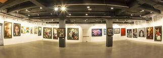 Around the World in 7 Days, installation view