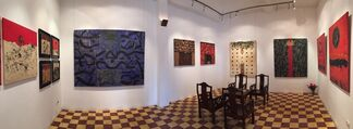 Nguyen Cam 20 year Retrospective, installation view