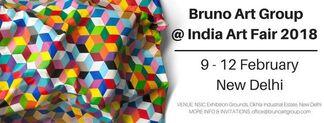 Bruno Art Group  at India Art Fair 2018, installation view