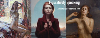 Figuratively Speaking: A Collection of Contemporary Representational Paintings, installation view