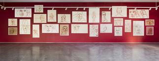 Alex Katz: Cartoons, installation view