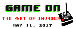GAME ON! The Art of Invader, installation view