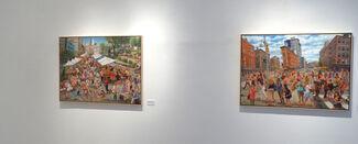 In New York, installation view