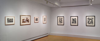 Jackson Pollock:  Works on Paper, 1935-1951, installation view