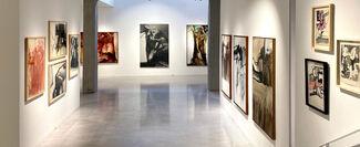 Luis Caballero: Homenaje 25 años después, installation view