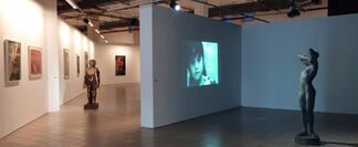 A New Selection from the Elgiz Collection: Faces & Masks, installation view