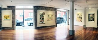 At the Threshold: Works on Paper by Regina Scully & Iva Gueorguieva, installation view