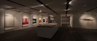 Fields of Abstraction - Curated by Justin Charles Hoover, installation view