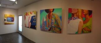 """""""Lei·sure"""" Featuring Eric Zener and James Rieck, installation view"""
