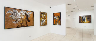 Jamil Naqsh | The Muse, Messengers & Miniatures, installation view