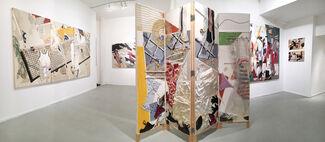 "Charles Platt ""encrypted messages"", installation view"