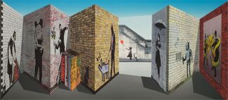 Patrick Hughes: A New Look at Perspective, installation view