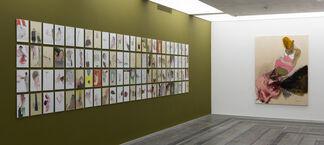 """Borderline. Ukrainian Art 1985–2004"" – a Group Exhibition of Ukrainian Artists, installation view"