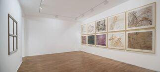 Daniel Dezeuze: Sous un certain angle, installation view