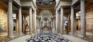 """JR: """"Au Panthéon!"""" at Panthéon Paris, France, installation view"""