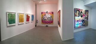 """Robert Hodge, """"Rhythm for the Suffering"""", installation view"""