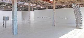 Luka Fineisen: smoke and mirrors, installation view