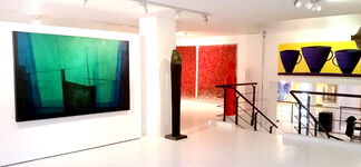 Galeria Baobab at Art Toronto 2015, installation view