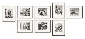BORCH at IFPDA Fine Art Print Fair Online Fall 2020, installation view