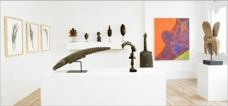 Simpson & Stone: A Special Selection of African and Oceanic Art from the Allan Stone Collection, installation view