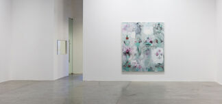Kamrooz Aram: Unstable Paintings for Anxious Interiors, installation view