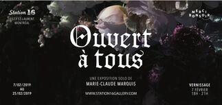 Marie-Claude Marquis: Ouvert à tous, installation view