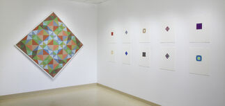 """""""Park Place Gallery: Founders and Friends, Then and Now"""", installation view"""