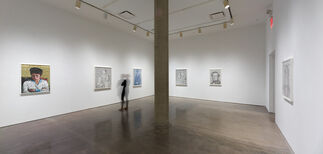 Crossing-over, installation view