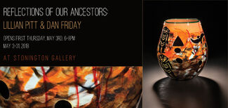 Reflections of Our Ancestors: Lillian Pitt & Dan Friday, installation view