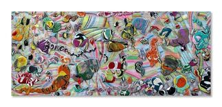 Melanie Rothschild: Paint & Air, installation view