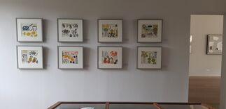 Christine McArthur - The Diary Series, installation view