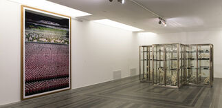 Group Exhibition of the Patron Artists of the Future Generation Art Prize:  Andreas Gursky, Damien Hirst, Jeff Koons and Takashi Murakami, installation view
