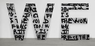 Adam Pendleton: shot him in the face, installation view