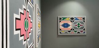 The Melrose Gallery at Investec Cape Town Art Fair 2020, installation view