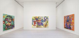 Bjarne Melgaard: Puppy Orgy Acid Party, installation view