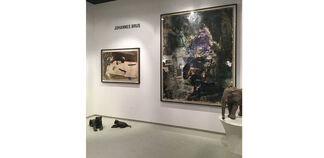Galerie Judith Andreae at Cologne Fine Art 2018, installation view