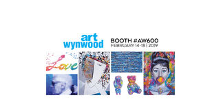 Blue Gallery at Art Wynwood 2019, installation view