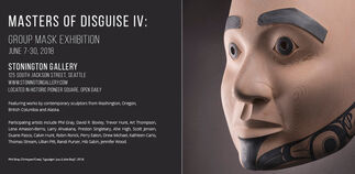 Masters of Disguise IV: Group Mask Exhibition, installation view