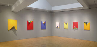 """Charles Hinman: """"Space Windows"""" from 2008, installation view"""