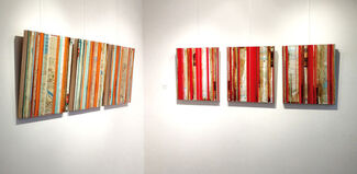 The Place Where I Started (Mapping Series)     Nina Tichava Solo Exhibition, installation view
