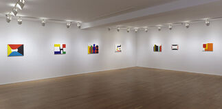 Andrew Masullo: Recent Paintings, installation view