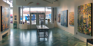 New Works by Woody Shepherd, installation view