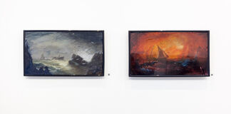 Into The Deep   Tim Wright - Kate Tedman - Dolly Thompsett, installation view