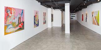 Beyond the Gaze: Women Painting Women, installation view