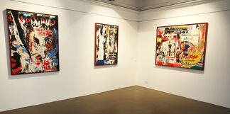 Jacques Villeglé. Retrospective, installation view