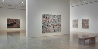 Mark Bradford: Scorched Earth, installation view