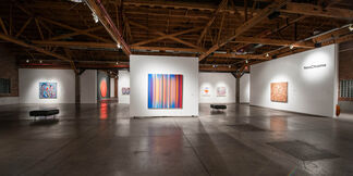 NeoChroma:  A contemporary survey of the use of brilliant color as emphasis in abstract painting, installation view